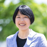 福岡センターの超越瞑想教師の平松直子の写真