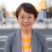 八丁堀センターの超越瞑想教師の山中由美子の写真